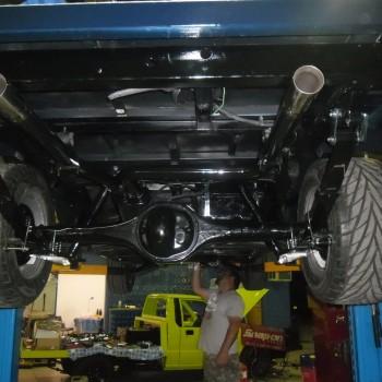 car restoration mechanic